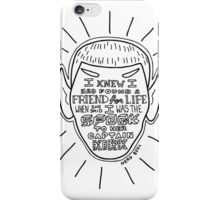BFFs Spock and Kirk iPhone Case/Skin