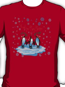 Merry Christmas from South Pole T-Shirt
