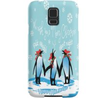 Merry Christmas from South Pole Samsung Galaxy Case/Skin