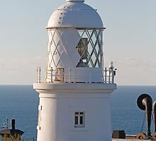 Lizard Point Lighthouse Cornwall  by Keith Larby
