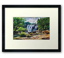 Falls (HDR) Framed Print