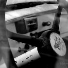 Inside Vintage Truck Abstract by talprofit