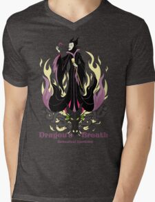 Dragon's Breath Botanical Garden Mens V-Neck T-Shirt