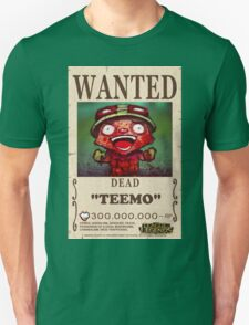 League of Legends - WANTED - Teemo T-Shirt