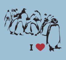 I love Penguin's by monkeybrain