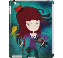 Toy fairycake tender octopus bear doll iPad Case/Skin