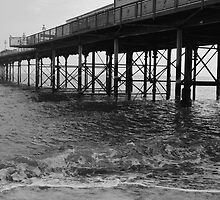 View of the pier, part two by GillyArt