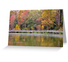 Autumn Over Water I Greeting Card