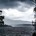 A storm, Wallaga Lake by pcbermagui