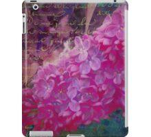 Vintage Lilacs floral garden nature art iPad Case/Skin