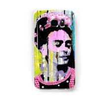 Frida Kahlo - Mixed Media with Newspaper Samsung Galaxy Case/Skin