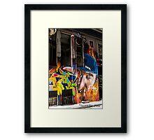 Hosier Laneway Framed Print