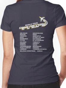 Cabin Pressure World Tour Women's Fitted V-Neck T-Shirt