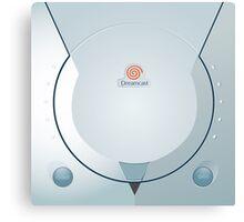 Sega Dreamcast console artwork Canvas Print