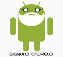 Sigmund Freud Android Kids Clothes