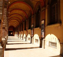 The porticos of the old city by Amber Elen-Forbat