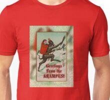 Greetings from the Krampus! #1 Unisex T-Shirt