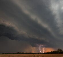 Cecil Plains Gustfront & Lightning by Anthony Cornelius