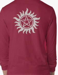Supernatural Pentagram Long Sleeve T-Shirt