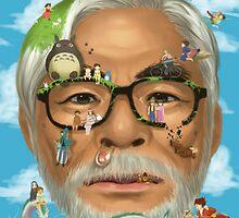 The world of miyazaki by rafel90