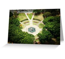 Hyde Park Gardens from the top. Greeting Card