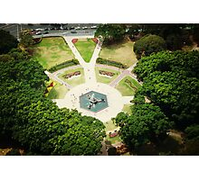 Hyde Park Gardens from the top. Photographic Print