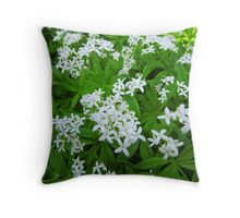 Woodruff at spring Throw Pillow