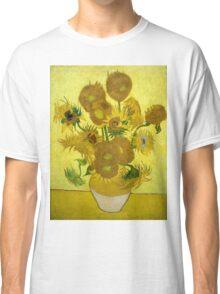 Vincent Van Gogh  - Sunflowers, 1889 Classic T-Shirt