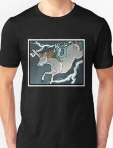 Chainsaw Unicorn and Modest Medusa T-Shirt