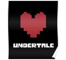 Undertale Heart Poster