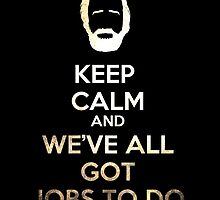 Hershel's Keep Calm by Eren