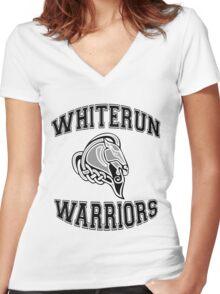 Whiterun Warriors Women's Fitted V-Neck T-Shirt