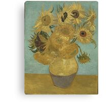 Vincent Van Gogh  - Sunflowers , Impressionism , Fine Art Canvas Print