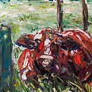 Bull in Cairns by Josh De Pasquale