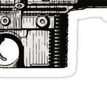 Han Solo's Blaster Stencil Sticker