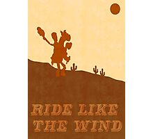 Ride Like The Wind Photographic Print