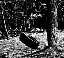 Tire Swing  by Al Bourassa