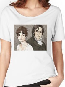 Elizabeth Bennet and Fitzwilliam Darcy Women's Relaxed Fit T-Shirt