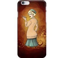 1920s Flapper Girl - Georgette 2 iPhone Case/Skin
