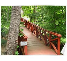 Bridge Over Untroubled Water ~ Chautauqua, NY Poster