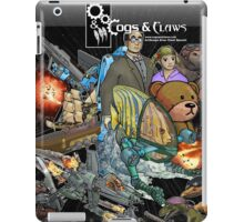 Cogs & Claws BookCover iPad Case/Skin