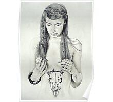 My deer tattoo Poster