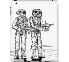 Meerkat Soldiers iPad Case/Skin