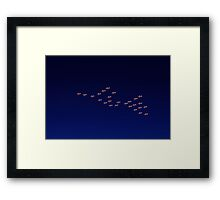 RAAF PC-9 Thunderbird Formation Framed Print