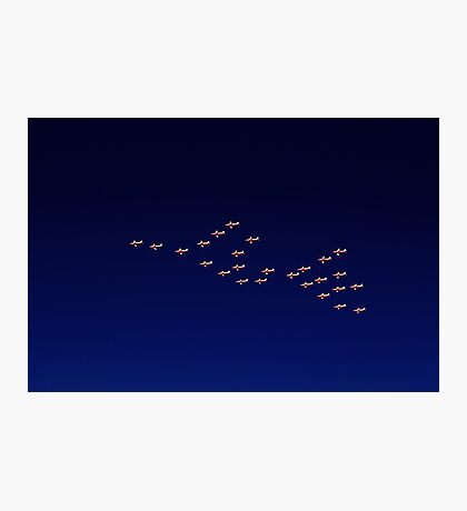 RAAF PC-9 Thunderbird Formation Photographic Print