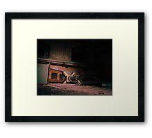 Forgotten world  Framed Print