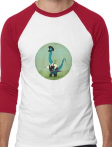 Captain Salty the pirate dinosaur T-Shirt