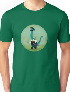 Captain Salty the pirate dinosaur T-Shirt