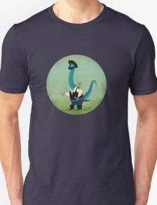 Captain Salty the pirate dinosaur Unisex T-Shirt
