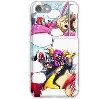comic style iPhone Case/Skin